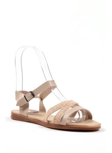 Gob London Sandalet Bej